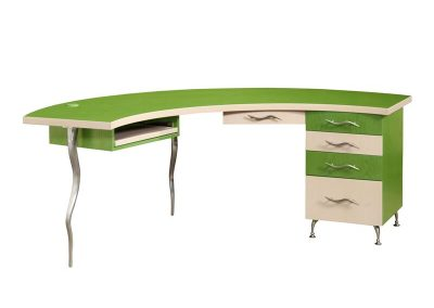 Demiluna Desk