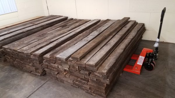 Stacked Reclaimed Oak