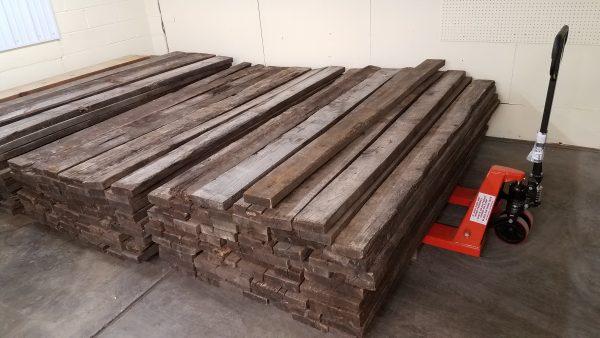 Stacked Reclaimed Oak